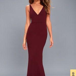 Lulu's Melody Maxi Dress